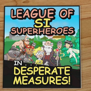 The League of SI Superheroes Motion Comic
